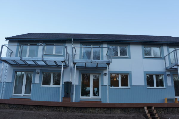 GreenSteps passivhaus windows critical in success of Lancaster Co-Housing CSH Level 6 Project